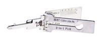 Lishi HU87 2In1 فك الترميز والاختيار لسوزوكي / جديد ألتو / سويفت / فيترا، 100٪ أدوات Lishi حقيقية من السيد لي مصنع
