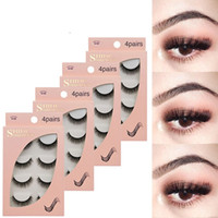 Tamax G100 wholesale 4 Pairs Mink Eyelashes 3D Mink Lashes F...