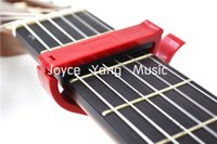 Alice A007E-C colorés en plastique Ratchet Guitar Capo Clamp pour guitare classique Livraison gratuite Wholesales