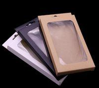 Papel Brown Universal Retro Kraft pacote de varejo caixas de embalagem da caixa para a caixa do telefone iPhone 12 mini-11 Pro Max XS XR 7 8 6 Plus