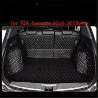 KIA Sorento 2015-2018year Deri Araç Gövde Tam Surround Kat Mat Palet Halı için