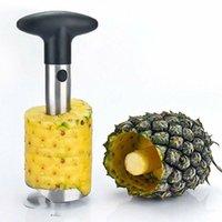Paslanmaz Çelik Ananas Soyma Meyve tart Dilimleme Soyma opp paketi CCA12186 30pcs Temizleyici Kesici Mutfak Aracı Ananas bıçak Stem