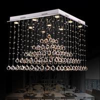 DHL 2020 إمبراطورية فاخرة كريستال الحديثة خمر الكلاسيكية الثريا مع GU10 9 الأضواء لغرفة المعيشة غرفة نوم فندق قاعة اللوبي مطعم