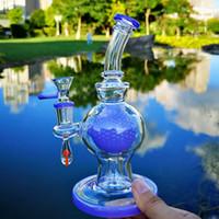 Inedy vetro unica bong palla perc vetro bong showhead a percolatore spessa narghilè olio dab rigs 14mm giunto femminile con ciotola tubi acqua