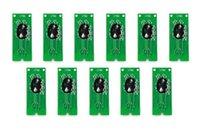 11pcs / set, Permanent Auto Reset Chip für Epson Stylus Pro 4900 Drucker T6531-T6539 T653A T653B Tintenpatrone