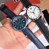 T095 high-grade watch six hands timing code table quartz male table 42mm diameter sapphire glass waterproof 100m dynamic style