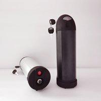 1000W 48V 18Ah Lithium-Batterie für Bafang bbs02 schwarze Flasche ebike Elektro-Fahrrad-Batterie UPS FEDEX TNT keine Steuer