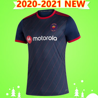 NEW 2020 2021 Chicago soccer Jerseys Fire FC home away BLUE 20 21 camisetas Robert Beric MIHAILOVIC FRANKOWSKI كرة القدم قمصان تايلاند
