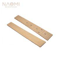 """NAOMI Ukulele Klavye Maple Fretboard 21 """"Ukulele DIY Klavye Gitar Parçaları Aksesuarları Yeni"""