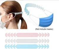 조정 가능한 미끄럼 방지 마스크 귀 그립 확장 후크 개의 기어 귀 통증 50PCS / 설정을 해소하기위한 버클을 매달려 마스크