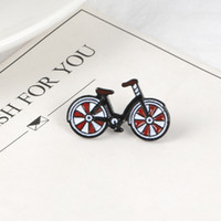 Cute Bicycle Lapel Metal Pins Promote Environmentally Sports...