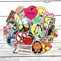 200PCS lot Random Cool Skateboard Guitar Travel Case sticker...