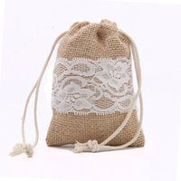 "TPW001, 4' X6"" , 20pcs lot, Wedding Jute Bag, Burlap and..."