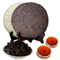 357g Olgun Pu Er Çay Yunnan 8 yıl Antik parfüm Pu er Çay Organik Pu'er En Eski Ağacı Puer Doğal Siyah Puer Çay Kek Pişmiş