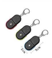 Neue drahtlose 10m Anti-Lost Alarm Key Finder Locator Schlüsselbund Whistle Sound mit LED-Licht Mini Anti Lost Key Finder