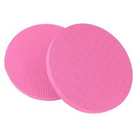 1 Pair Portable Small Round Knee Pad Yoga Mats Fitness Sport...