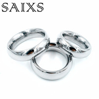 Anello in acciaio inox pene anello in metallo scroto anello eiaculazione cockring prodotti del sesso giocattoli per gli uomini trasporto di goccia