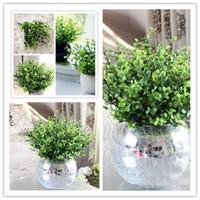 Sıcak Trendy Yeşil Parti Hediye Düğün Gelin Bitkiler Bahçe Yapay Bitki Orkide Satış Rahat Çiçek Ev Dekorasyonu Yok pot