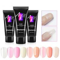 15ml 9 cores prego Builder Gel polonês Verniz para o prego extensão Gel UV LED Sculpting rígido unhas de gel Lacquer Ferramenta de Manicure