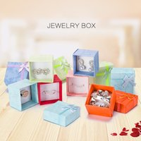 4*4*3. 2cm cardboar Jewelry Gift boxes For Rings Stud Earring...