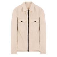 패션 - 18FW 107WN OVERSHIRT OLD 의류 염료 셔츠 TOPST0NEY 남성 여성 자켓 Facshion면 코트 최고 HFLSJK324