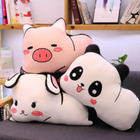 Cute Double- Sided Stretch Printed Animal Pillow Plush Toy Ho...