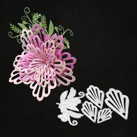 Metallo 3D Metallo Taglio Muore per Scrapbooking Album FAI DA TE Cartella Goffratura Carta Carta Maker Template Decor Stencil Artigianato Top Quality