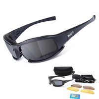 Goggles Polarized Tactical Glasses Ballistic 3 Lenses Army S...