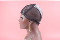 Il nuovo modo nero Weave Tappi per Cucire a trama dei capelli Large Medium Small Cap parrucca per la fabbricazione di parrucche con la cinghia regolabile calza