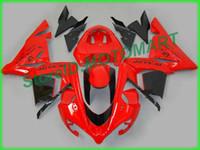 Тело для Kawasaki Ninja ZX 10 R ZX10R 04 05 ZX 10R ZX1000 C ZX1000C 04 ZX-10R 2004 2005 Fairing KA24