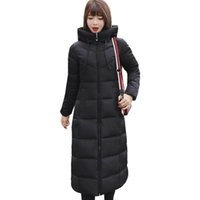 Plus Size 4xl 5xl 6xl Womens Winter Jackets Hooded Stand Col...