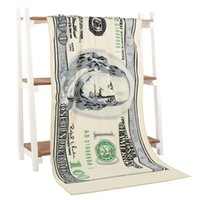 U. s Dollar Design Bath Towel Microfiber Printing Activity Be...