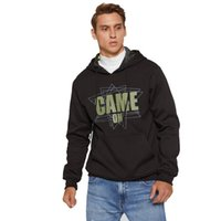 Men' s Hoodie Printed Hooded Pullover Fashion Casual Fle...