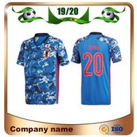 2020 European Japan Home Player versione di calcio Jersey 20/21 della nazionale uniformi di gioco HONDA KAGAWA OKAZAKI calcio Camicia a maniche corte