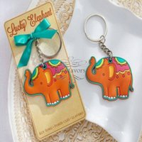 "20PCS "" Lucky Elephant"" Key Chain Key Ring Baby Sho..."