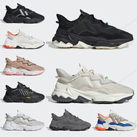 2020 مصمم أحذية عارضة Ozweego الرجال النساء تريل أسود أبيض رمادي متعدد الشمسية الخضراء حذاء عارضة مدرب الرياضة Chaussures 36-45