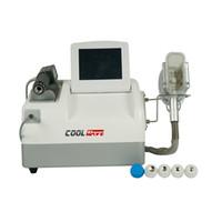 Yeni güzellik makinesi 2 in 1 Cryolipolysis yağ donma ve ED için düşük yoğunluklu şok dalga makinesi
