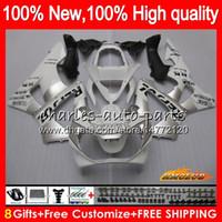 Bodys Repsol Silver für Honda CBR 929RR 900 929 RR CC 900cc 929cc 900RR 76HC.13 CBR929RR CBR900RR CBR929 CBR900 RR 2000 2001 00 01 Verkleidung