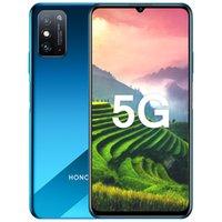 "Original Huawei Honor X10 Max 5G Mobile Phone 8 GB de RAM 128GB ROM MTK 800 Octa Núcleo Android 7,09"" Phone 48MP AI NFC face ID Fingerprint celular"