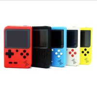 Video Games portáteis Consolas pode armazenar 168 Retro portátil Mini Handheld 8 bit cores LCD jogador para o FC Jogo