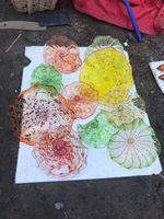 Декоративные Murano ручной работы из стекла Тарелки ручной выдувная боросиликатного стекла стена Плита выдувного Glass Art Wall Plates