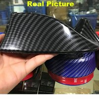 Carbon Fiber Car Roof Styling EVO- Style Shark Fins Spoiler W...