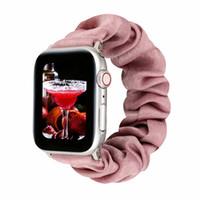 애플 시계 iWatch 시리즈 5 4 3 2 1 슈슈 패션 루프 밴드 손목 스트랩