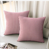 Pillows Cover Stripes Fashion 6 Colors 45*45cm Cushion Cover...