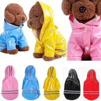كلب بو سترة معطف معطف ماء هوديي colthes جرو الملابس S-XL سوبر بارد 5 ألوان DDA504