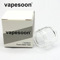 Authentic VapeSoon Replacment Fat Extend Bulb Glass Tube For TFV-MINI V2 TFV8 BABY V2 Stick M17 TFV12 Prince TFV8 BIG BABY Fast Shipping