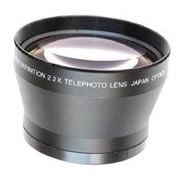 67mm 2.2x lente conversora de fotos para Canon 18-135mm cámara