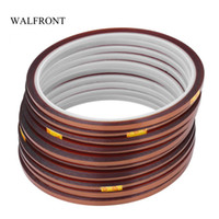 Freeshipping 10pcs Set 30 Meters Heat Resistant Tape High Temperature Polyimide Insulation Tape Electric Industry Adhesive Tools Kit