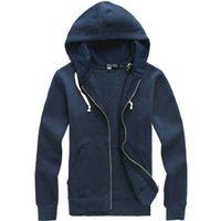 Frete Grátis 2020 Novo Venda Quente Mens Polo Hoodies e moletons Outono inverno Casual com um capuz esporte jaqueta masculino homens
