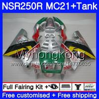 Injectie voor Honda Silver Green Hot NSR 250R 250 R MC21 PGM3 NSR250R 90 91 92 93 264HM.25 NSR250 RRN NSR250RR 1990 1991 1992 1993 Valerijen